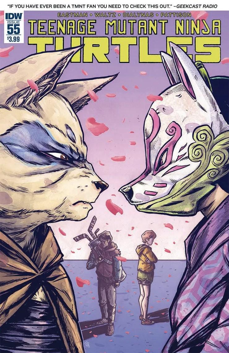 Teenage Mutant Ninja Turtles #55 Review