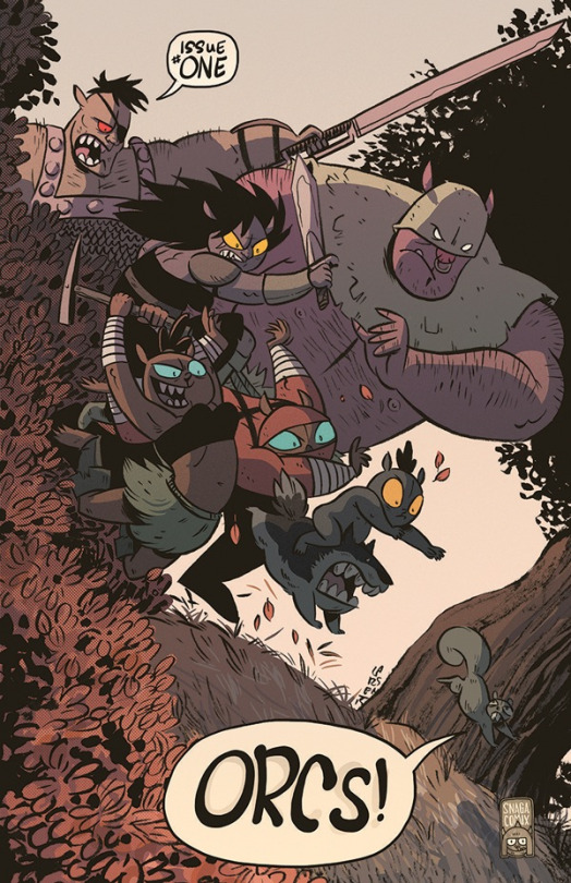 Orcs #1 Review