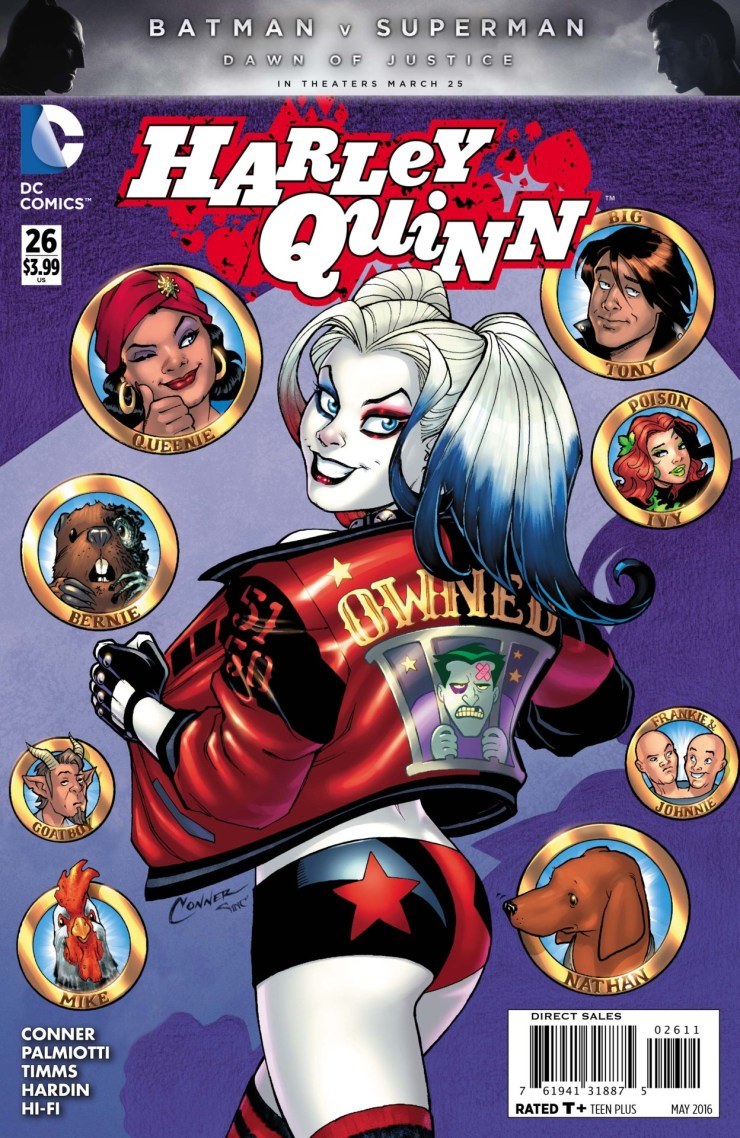 The best part about Harley Quinn, or at least the current iteration in the comics, is that she's good at heart but willing to bring a lot of violence down on minor villains. For instance, a bully might tick her off and she rips his ears off. I take a look at the heroically insane Harley Quinn to ask the question, is it good?