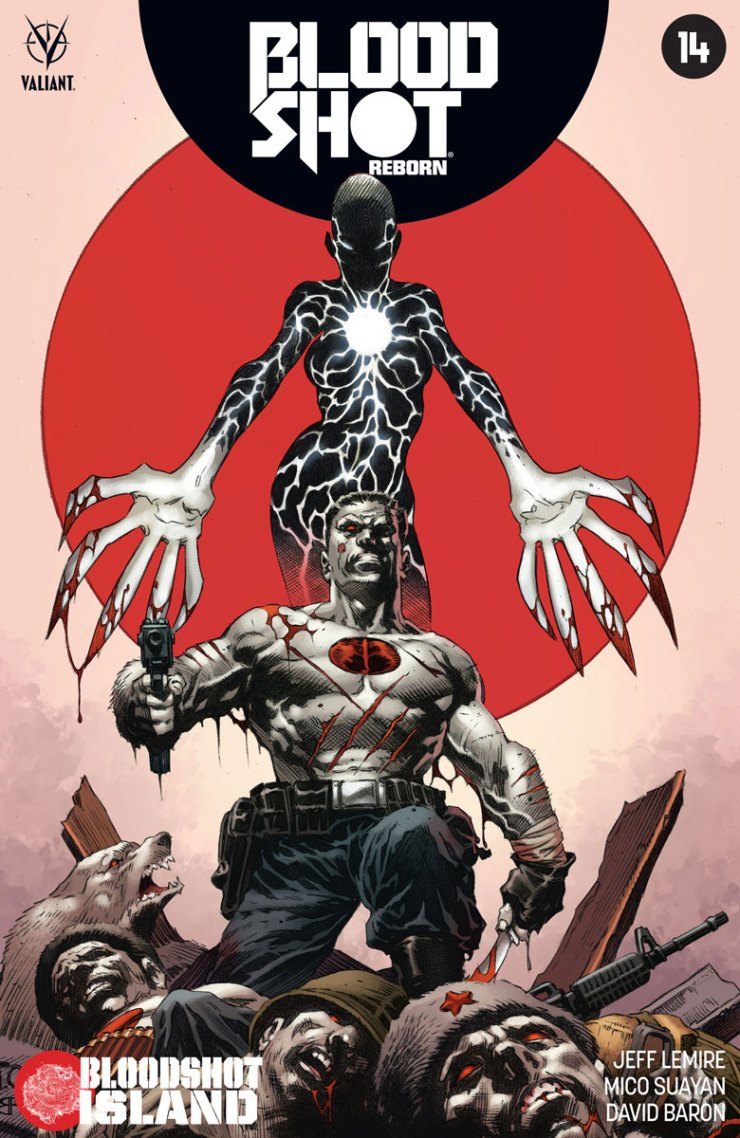 Valiant Preview: Bloodshot Reborn #14
