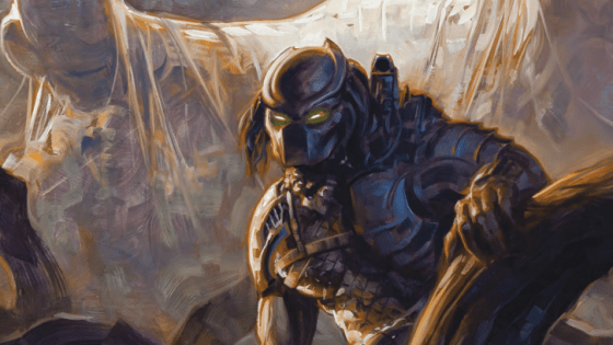 Round 2 of the sci-fi space titan throwdown between Aliens, Predators and Engineers from Prometheus kickstarts with Predator: Life and Death #1.