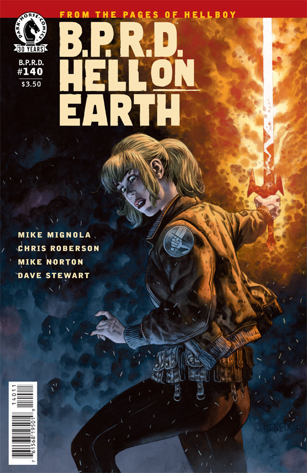 If you ask me, Dark Horse has the lead on science fiction comics. They consistently offer new ideas in their Dark Horse Presents anthology series and have quite a few great titles from the Hellboy universe. I check out the latest issue of B.P.R.D. Hell on Earth and answer the question: is it good?