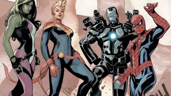 Marvel Preview: Civil War II #1