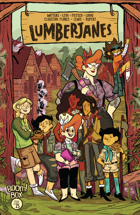 Lumberjanes #25 Review