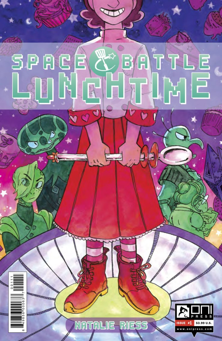 Space Battle Lunchtime #1 Review