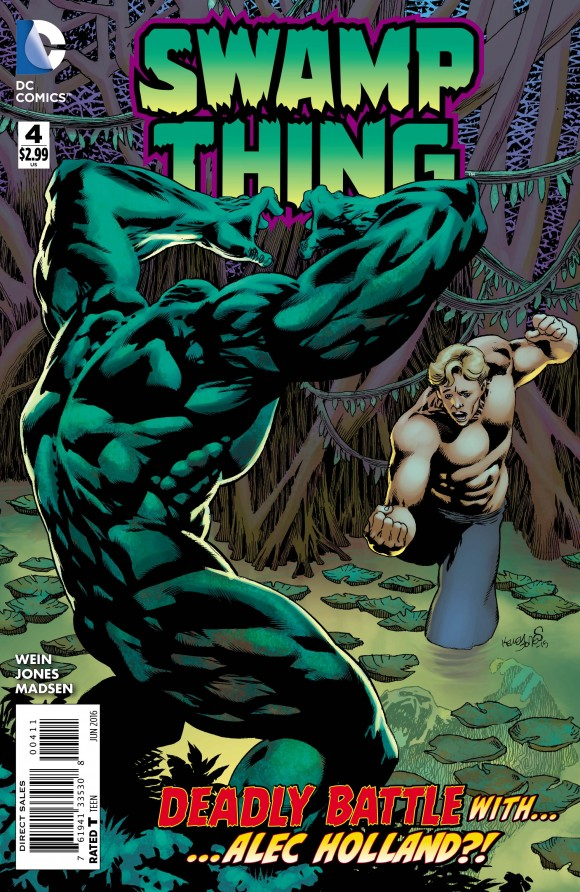 Swamp Thing #4 Review