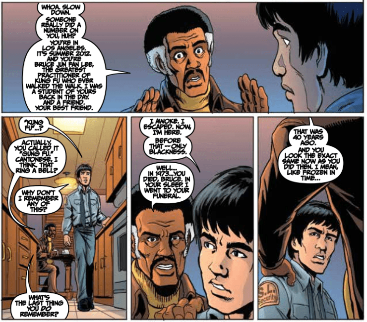 Bruce Lee: The Dragon Rises #1 Review