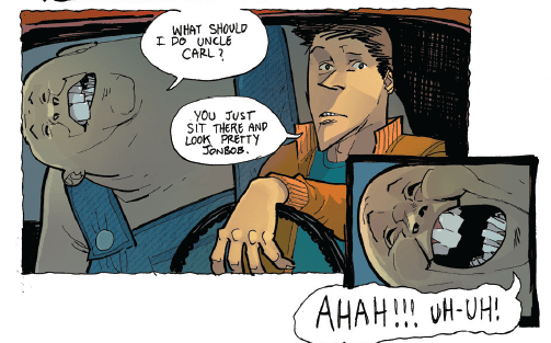Grizzly Shark #1 Review