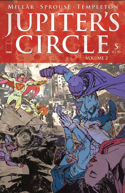 Jupiter's Circle Vol 2. #5 Review