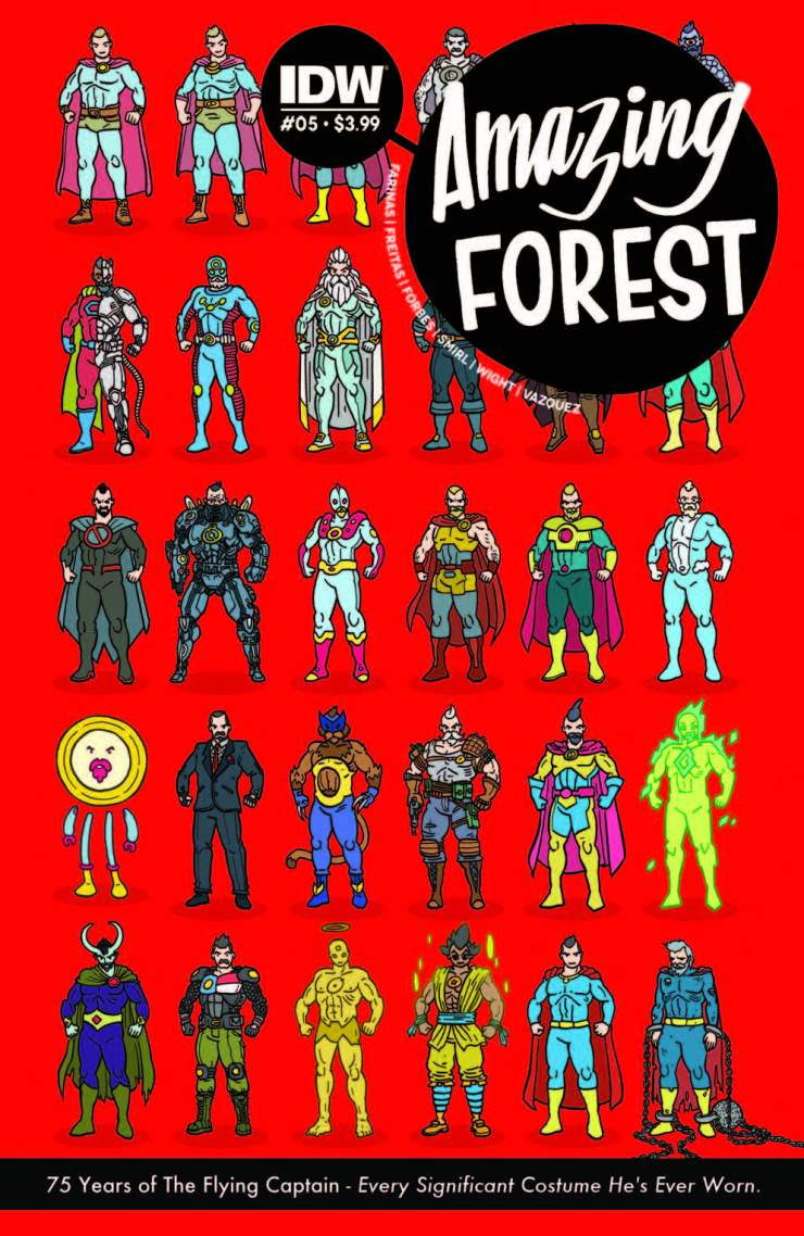 Amazing Forest #5 Review