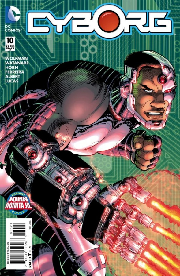 Cyborg #10 Review