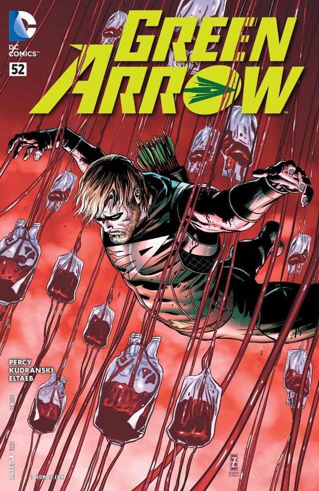 Green Arrow-as-werewolf ends this week and based on the cover I'm not so sure he makes it out alive. We take a look at the comic to answer the question: is it good?
