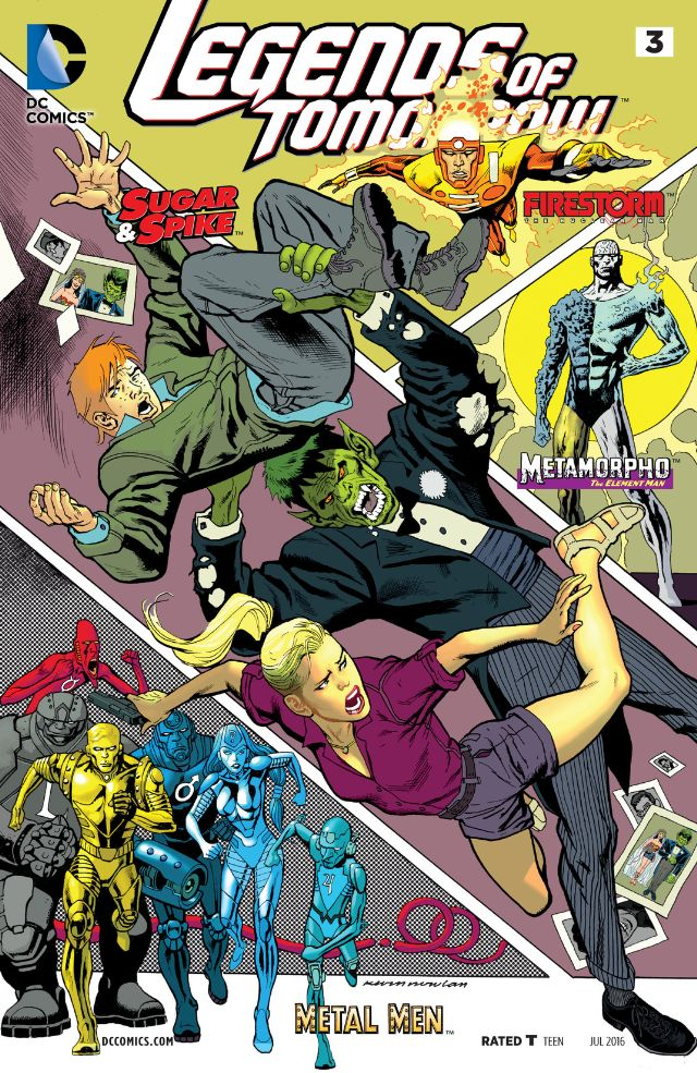 Legends of Tomorrow #3 Review