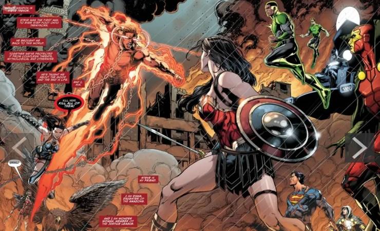 Justice League #50 Review