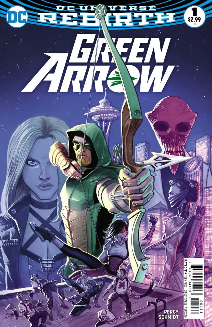 Green Arrow #1 Review