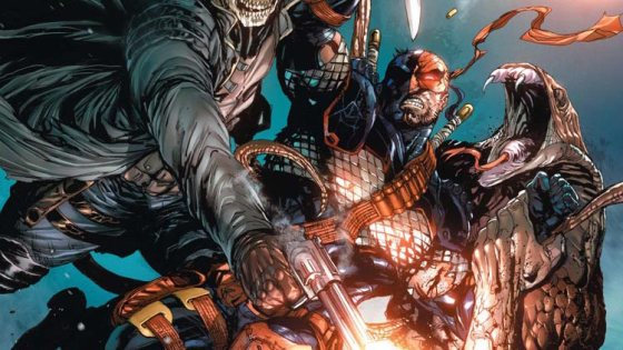 Deathstroke vs. Ra's Al Ghul. But wait, they have a common enemy, so who does Deathstroke fight? Two questions remain: Who ya got, and is it good?