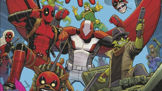 The fans have spoken and the Mercs for Money are back in business. This July, Wade Wilson and his lovable band are back in an all-new DEADPOOL AND THE MERCS FOR MONEY #1 – now an ongoing series! Coming in July, returning writer Cullen Bunn joins incoming artist Iban Coello for an all-out brawl-out as Deadpool, Solo, Slapstick, Foolkiller, Stingray, Terror and Masacre (and even a few surprises members!) hit the Marvel Universe in search of cold, hard cash! Deadpool may be one of the best mercenaries on the planet. He may even be a passable Avenger. Know what he isn't? A good leader. Don't believe us? Ask the Mercs for Money! But they'll have to work as a team when a big job with an even bigger payday falls into their laps. The job? Rid the Marvel Universe of its radioactive super villains. Easier said than done – especially when only one of them has a healing factor. Sorry, everyone but Deadpool. If you've got a pile of cash you're not overly fond of, and you can find them – maybe you can hire these miscreant mercenaries. Or you catch the exciting first issue of this ongoing series when DEADPOOL AND THE MERCS FOR MONEY #1 embarks on a new adventure this July!