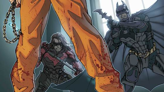 With the news of an Injustice sequel recently coming out one has to wonder if it will carry the stories in the digital comics forward. If they do, that makes the printed edition all the more valuable. We check in on the 12th issue of the series to ask the question, is it good?