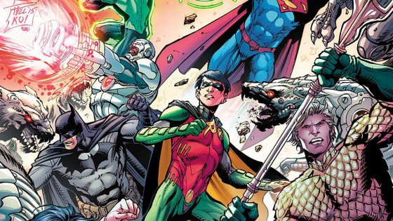 New writer, new artist and a new direction for Justice League this week. You might even call it a (sigh) 'Rebirth' of sorts, but is it good?