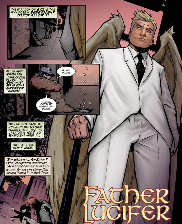 Lucifer #7 Review