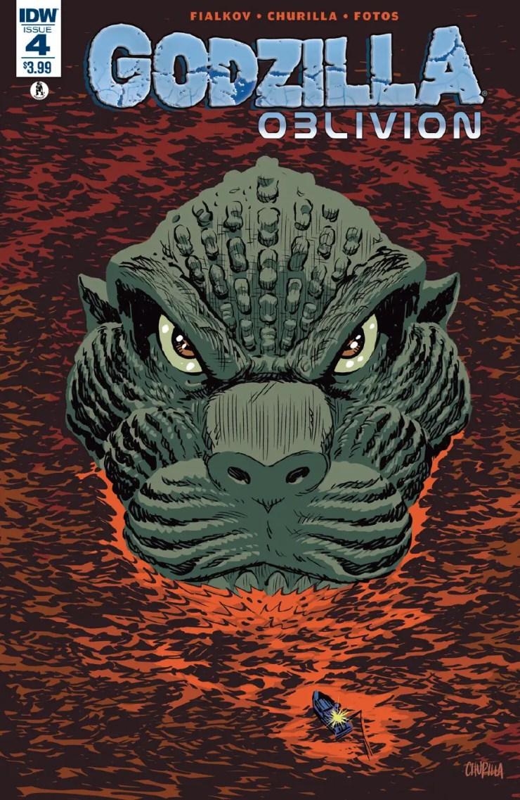 Godzilla: Oblivion #4 Review