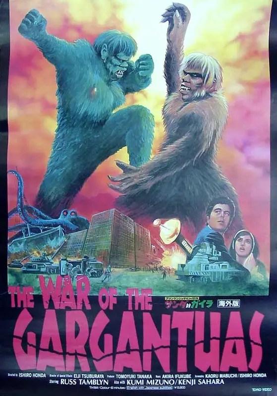 war-of-the-gargantuas-poster