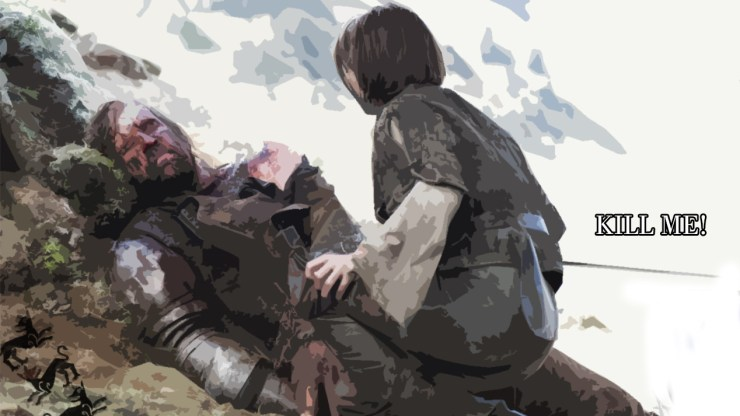 25 - Sandor Clegane thought to be dead