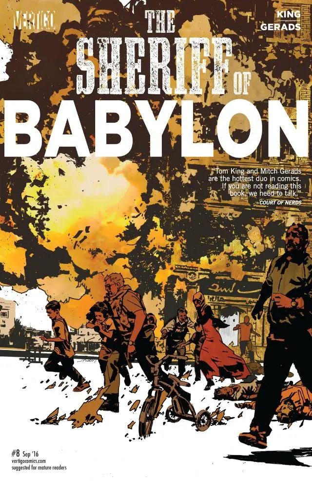 Sheriff of Babylon #8 Review