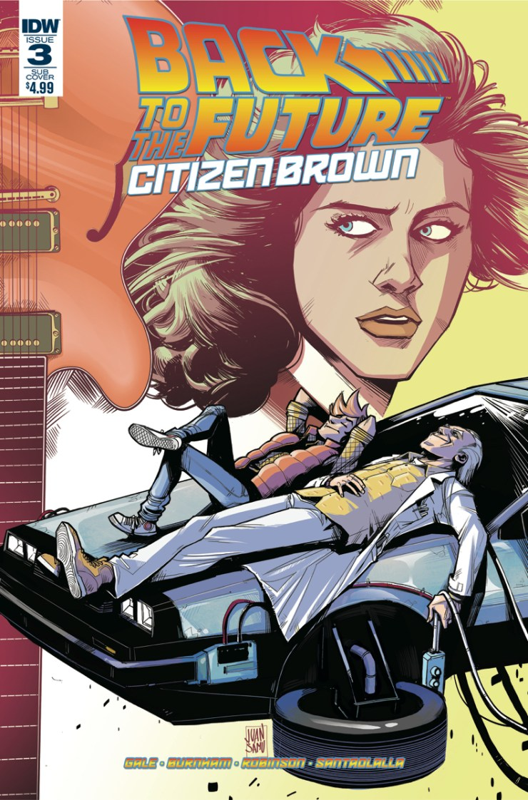 Back to the Future: Citizen Brown #3 Review