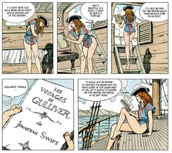 Milo Manara's Gullivera Review