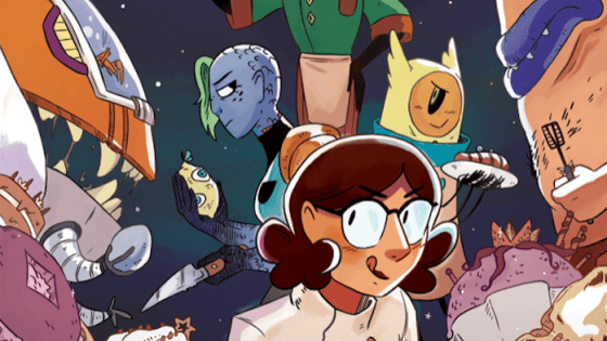 Natalie Reiss talks her Oni Press original series, world building, and Batman