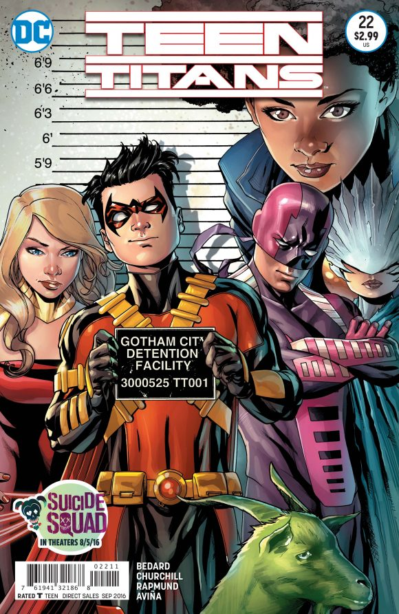 Teen Titans #22 Review