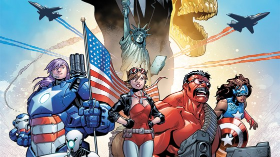Marvel Preview: U.S.Avengers #1