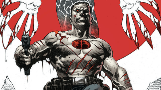 This summer…sail back to BLOODSHOT ISLAND for a pulse-pounding director's cut presenting Jeff Lemire and Mico Suayan's action-packed masterwork in pristine black and white!