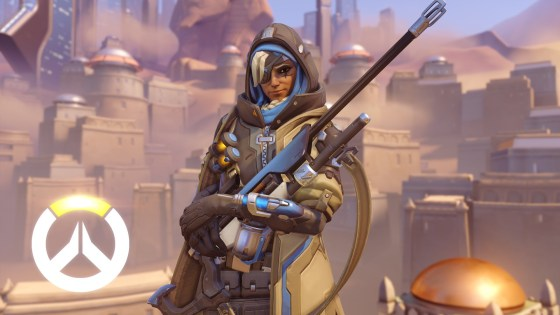 See Overwatch's New Hero, Ana, in Action