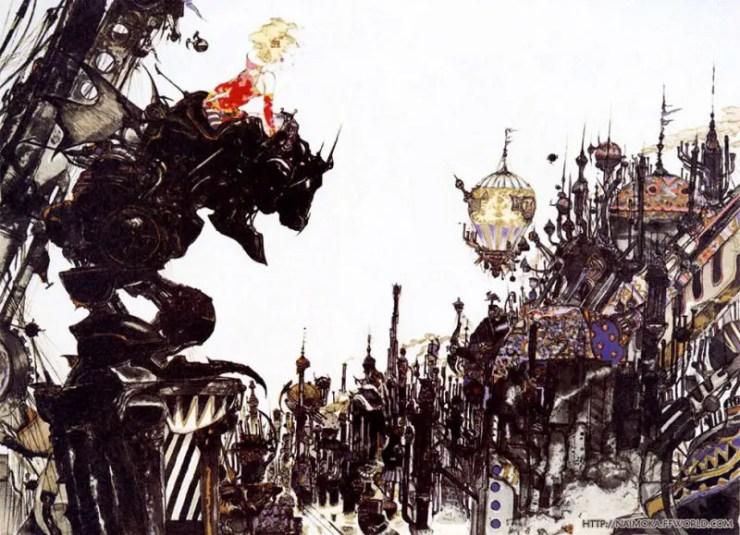 Yoshitaka Amano Illustrations Review