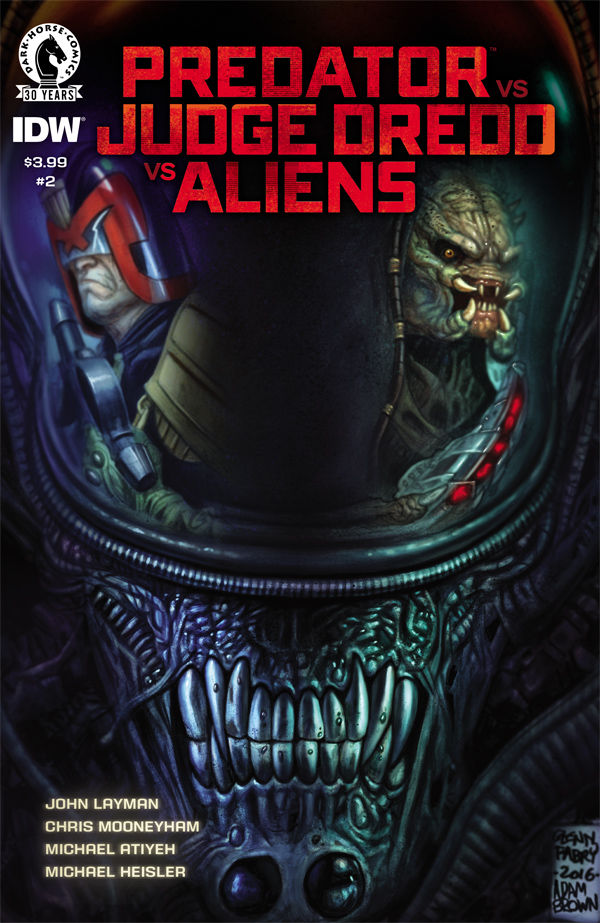 Predator vs. Judge Dredd vs. Aliens #2 Review