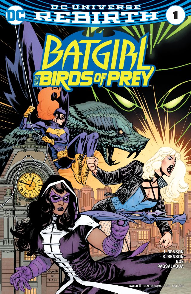 Batgirl and the Birds of Prey #1 Review
