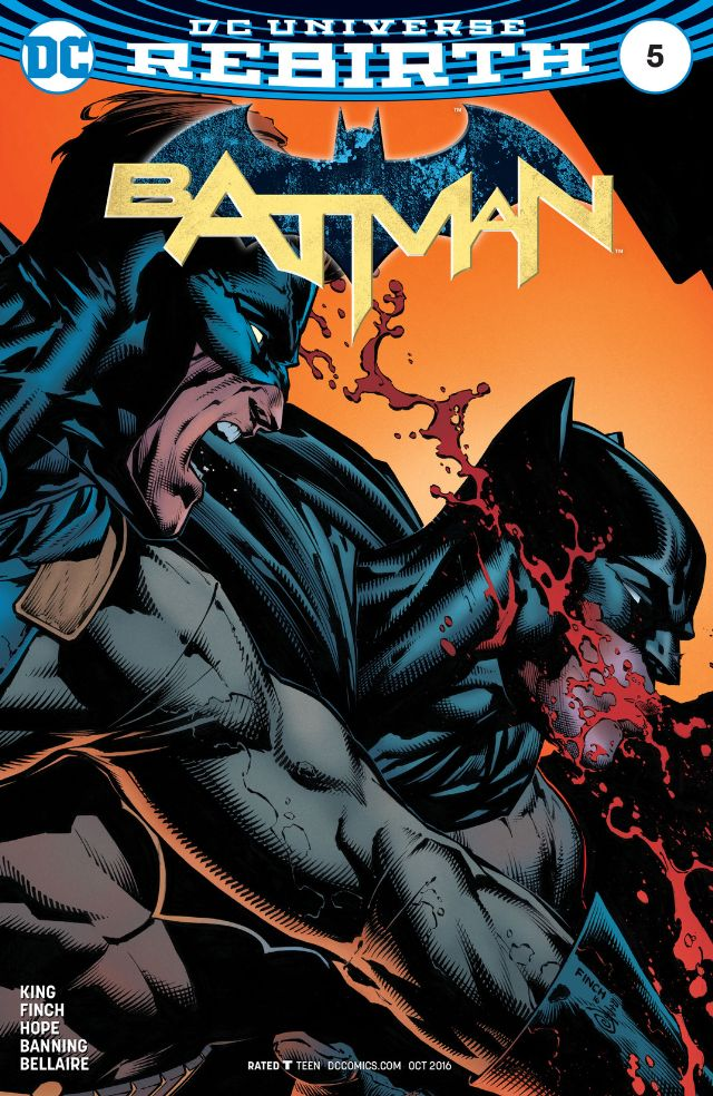 New superhero Gotham is out of control, Batman is running out of options, and the city of Gotham itself is in terrible danger. Can this issue deliver a Gotham vs. Batman battle, and is it good?