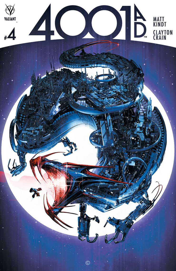 All good things must come to an end and that includes stories in comics. Hard to believe with how many serial stories there are (I'm looking at you big time superheroes), but some publishers understand to satisfy a reader you need an ending. This week part 4 of 4001 A.D. arrives, but is it good?