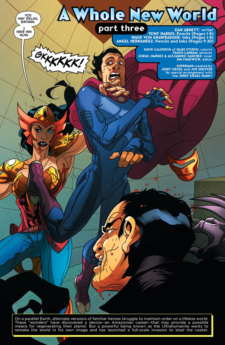 Earth 2: Society #15 Review