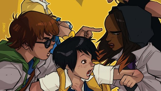 Having no background in Gotham Academy I thought it would be a great time for me to start with Gotham Academy Annual #1. This issue is meant to be a prequel to Gotham Academy: Second Semester so it's sure to set up some brand new story lines.