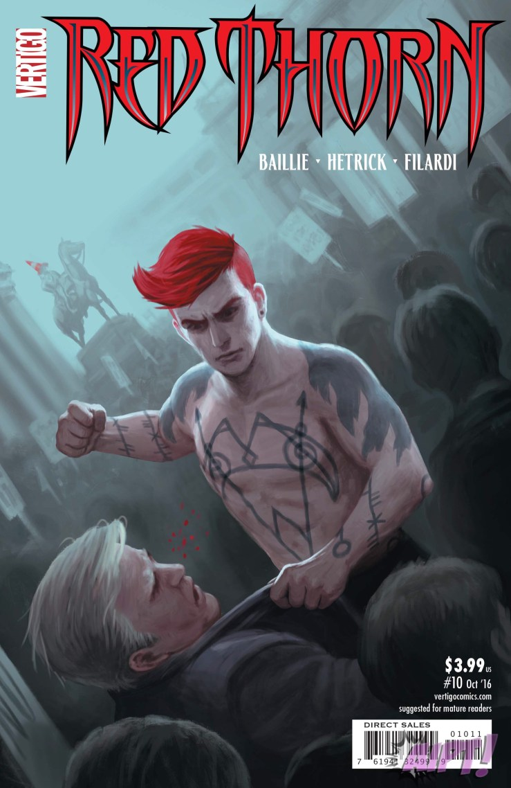 Red Thorn #10 Review