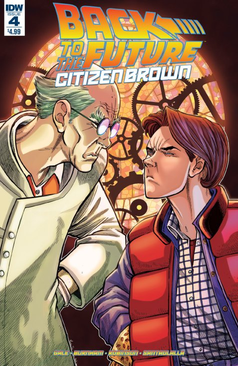 Back to the Future: Citizen Brown #4 Review