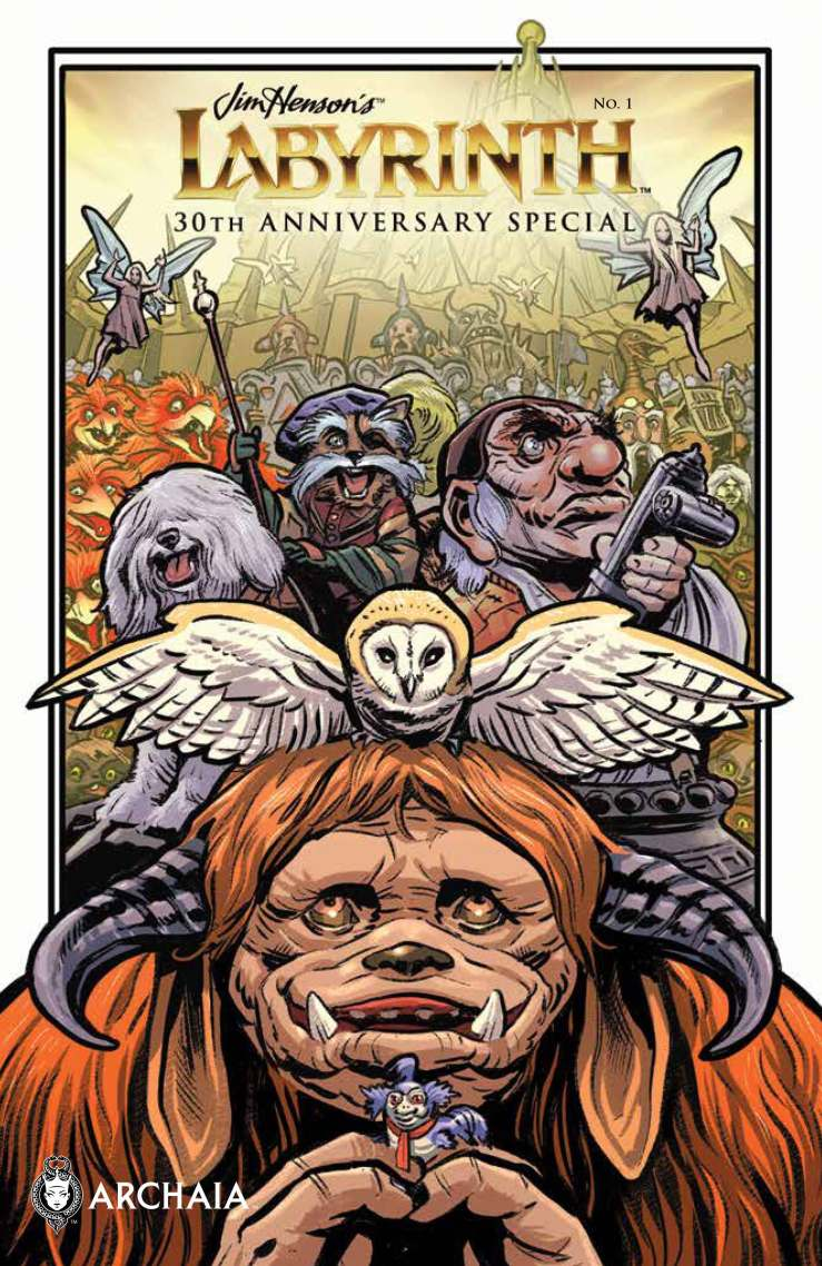 Jim Henson's Labyrinth 30th Anniversary Special #1 Review