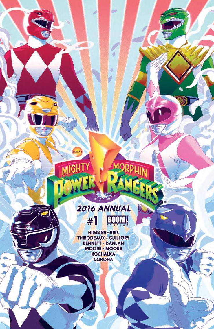 Mighty Morphin Power Rangers 2016 Annual #1 Review