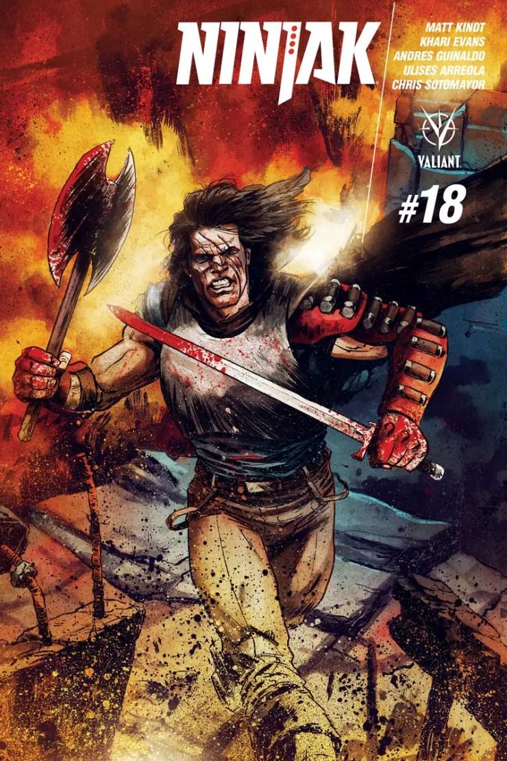 Ninjak #18 Review
