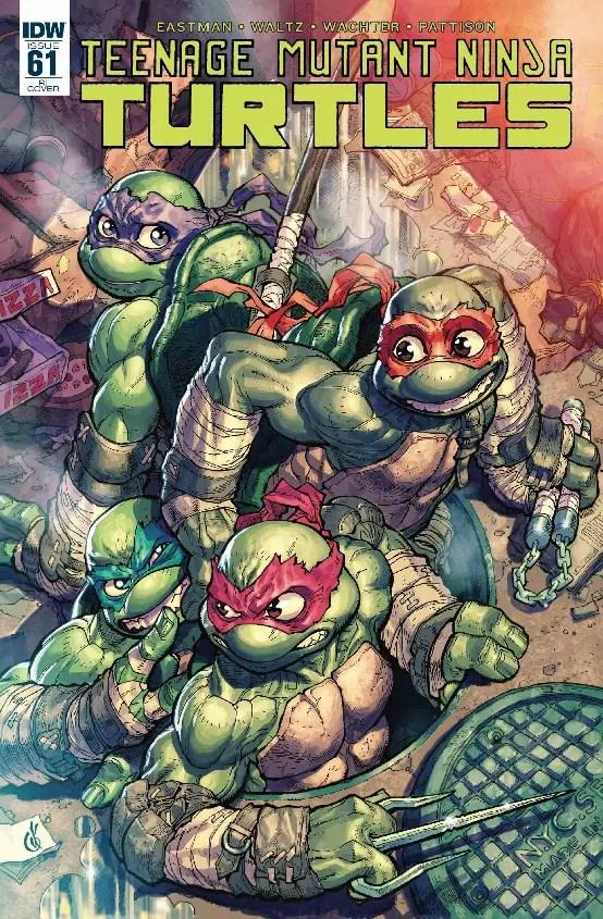 Teenage Mutant Ninja Turtles #61 Review