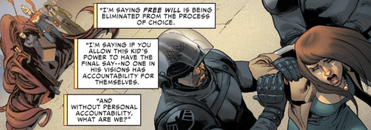 Reality Check: Civil War II, Physics and Free Will