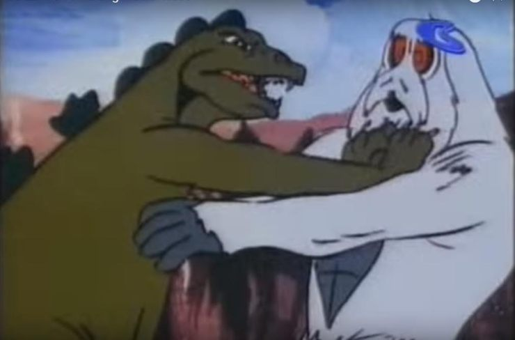 godzilla-hanna-barbera-fighting